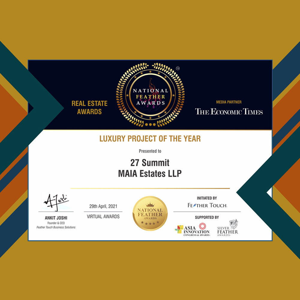 National Feather Awards: 27 Summit wins Luxury Project of the Year